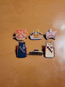 NBA All-Star Pins- Lot of 6
