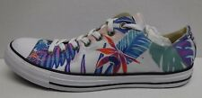 Converse Size 10 Blue Floral Sneakers New Mens Shoes