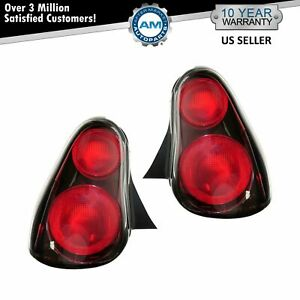 Tail Lights Taillamps Left & Right Pair Set For 2000-2005 Chevrolet Monte Carlo