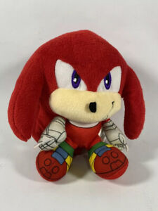 Sonic Boom Knuckles Plush TOMY Big Head Red Stuffed Animal