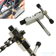 Bike Steel Chain Breaker Splitter Cutter Repair Tool Silver for Cycling Bicycle