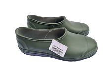 More details for green gardening shoes size uk9.5 eur43 heavy duty waterproof fast free p&p!