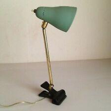 Lampe Pince Rotules Laiton époque 1950's Bureau Chevet Ostuni  no Guariche