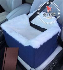 Dog Car Booster Seat Safety Travel Safe Puppy Pet Soft in Medium(32x55x55) Brown