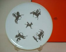 "Authentic Hermes ""Silhouettes"" Lerge Plate"