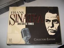 10 (TEN) VOLUME SET VHS FRANK SINATRA HIS LIFE AND TIMES   8