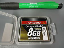Transcend TS8GCF100I Ultra Speed Industrial - flash memory card - 8 GB. New!