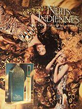 PUBLICITÉ 1994 NUITS INDIENNES JEAN-LOUIS SCHERRER PARIS - ADVERTISING