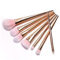 Pro 7pcs Makeup Cosmetic Brushes Set Powder Foundation Eyeshadow Lip Brush Tool