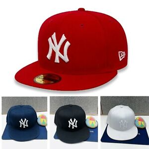New Era New York Yankees MLB NYY Base Ball Hat 59Fifty Fitted Cap