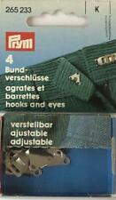 Prym - Adjustable Waistband Hooks & Eyes - 4 Sets 265233