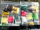 """Ice Chenille - Multi colors - 9 cards  - Cards 1""""x11/4 - Fly tying material"""