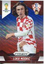 Panini Prizm WC 2014 Parallel Wave Prizm Base Card # 118 Luka Modric