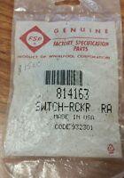 Whirlpool range rocker switch 814163
