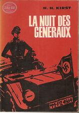 H.H. KIRST LA NUIT DES GENERAUX