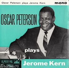 OSCAR PETERSON Plays Jerome Kern U.K EP  Mono 1960