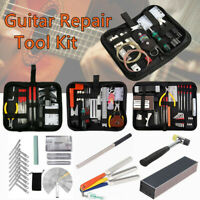 Luthier Guitar Care Repair Maintenance Tools Full Set Guitar Tool Kits Pliers US