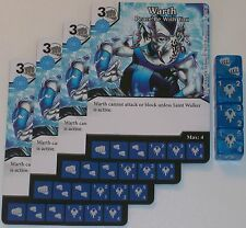 4 X WARTH PEACE BE WITH YOU 72/142 War Of Light Dice Masters DC