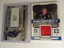 Haydn Fleury 13-14 ITG Heroes and Prospects Auto & 14-15 Prospect Jersey #71/75