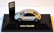 VW Volkswagen New Beetle tipo 9C 1997-2005 Argento Argento metallico 1:87 Wiking