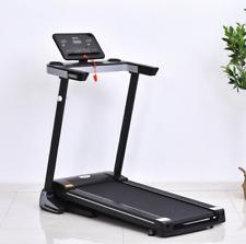 500W Motorised Treadmill 1-12km Running Machine Home Gym Office Fitness Exercise
