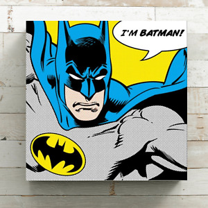 Superhero Framed Canvas Wall Art Picture Print Ready To Hang
