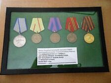 WW2 SOVIET RUSSIA - RESEARCHED 'VISTULA 3RD JAN. 1945 MEDAL FOR COURAGE' GROUP