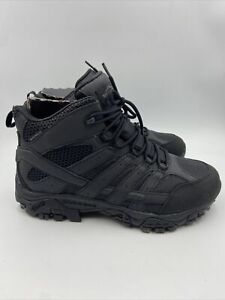 Moab 2 MID Tactical WP Black Hiking Boots Size 9.5 M , 475