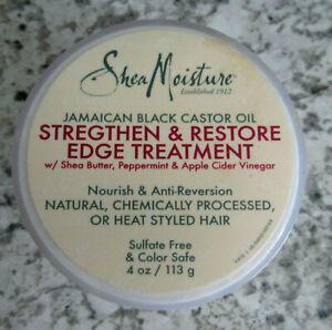 Shea Moisture Jamaican Black Castor Oil Strengthen & Restore Edge Treatment 4 oz