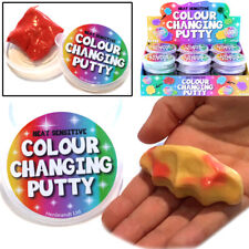 HEAT COLOUR CHANGE PUTTY TOY BOYS GIRLS SECRET SANTA CHRISTMAS STOCKING FILLER