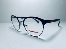 ccf329fd23 AUTHENTIC PRADA SPORT VPS 52H 7AX-1O1 Black Gunmetal Eyeglasses 50mm 19 140
