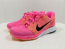 Nike LunarGlide 7 Women's Running Shoes Pink/Black/Orange 747356-601  Size 6.5