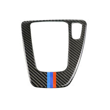 For BMW 3 E90 E92 Carbon Fiber Gear Shift Panel Decor Interior Trim Sticker DIY