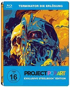 °TERMINATOR: DIE ERLöSUNG° Exclusive Steelbook Edition, Project PopArt Neu