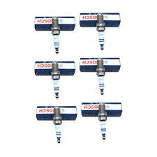 6-Pieces Bosch Platinum Spark Plugs Platinum+4 4-Prong 4417 FGR7DQP