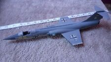 LOCKHEED F-104 STARFIGHTER 1/48 SCALE BUILT SPARES OR REPAIR INCOMPLETE? B