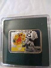 Niue 1 dollar Vincent van Gogh 1853-1890 proof silver coin 2007