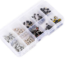 250pcs 10 Types Mixed Tactile Push Button Switch Car Keys Remote Key Microswitch