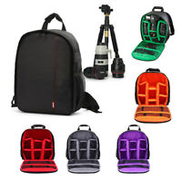 Digital Camera Bag Backpack Photo SLR DSLR Case for Nikon Sony Canon Waterproof