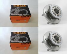 Front Wheel Hub Bearing Driver And Passenger Timken 513202 2pc New