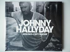 Mon Pays c'est L'Amour par Johnny Hallyday (CD, Octobre 2018, Warner, Edition Limitée CD-Livre)