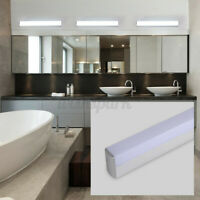 Modern Bathroom Vanity LED Light Acrylic Front Mirror Toilet Wall Lamp  ''*