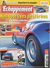 ECHAPPEMENT n°517 09/2010 PORSCHE 911 TURBO S WRC FINLANDE ALLEMAGNE