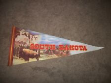 VINTAGE SOUTH DAKOTA  PENNANT