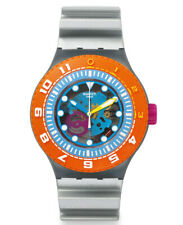 Swatch Scuba Libre Sea Through SUUM101 Neuware Selten