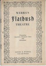 1929 The Other Man Werba's FLATBUSH Theatre