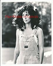 """Cher-Witches of Eastwick 8"""" x 10"""" Black & White Photo-1987-#384A"""