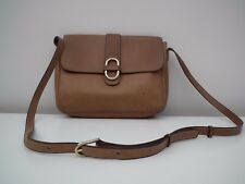 DELVAUX * Vintage leather cross-body / shoulder bag / purse