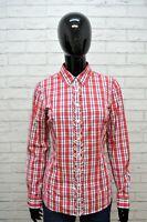 Camicia TOMMY HILFIGER Donna Taglia S M Maglia Chemise Blusa Shirt Woman Cotone