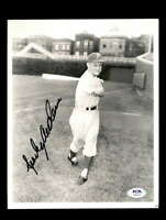 Sparky Anderson PSA DNA Coa Hand Signed 8x10 Photo Autograph